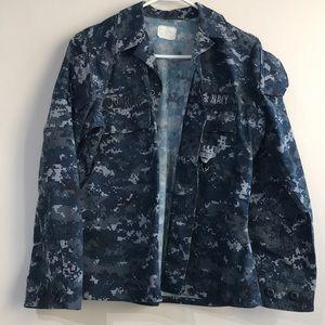 Navy Camo Jacket